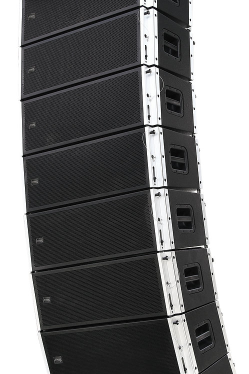 PRO 212A, 1200W+400W AMPLIFIER,  2x12'' + 2x3'' 2 WAY ACTIVE LINE ARRAY