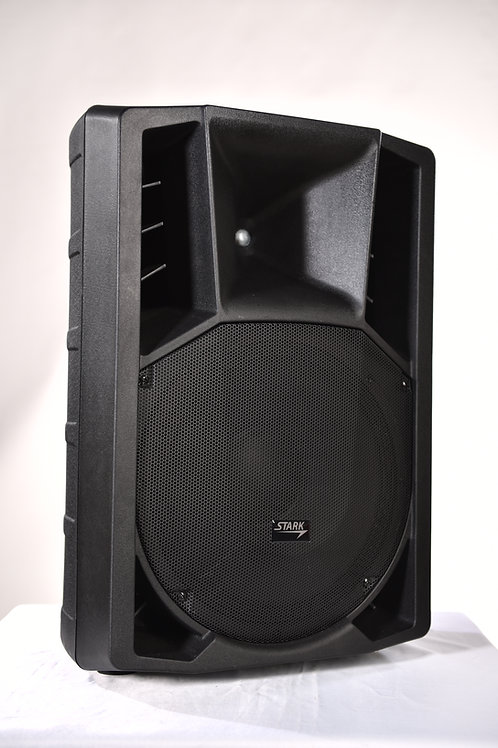 STARK LM-152P, 600W-2400W 12''2 WAY PASSIVE LOAD SPEAKER (PLASTIC)