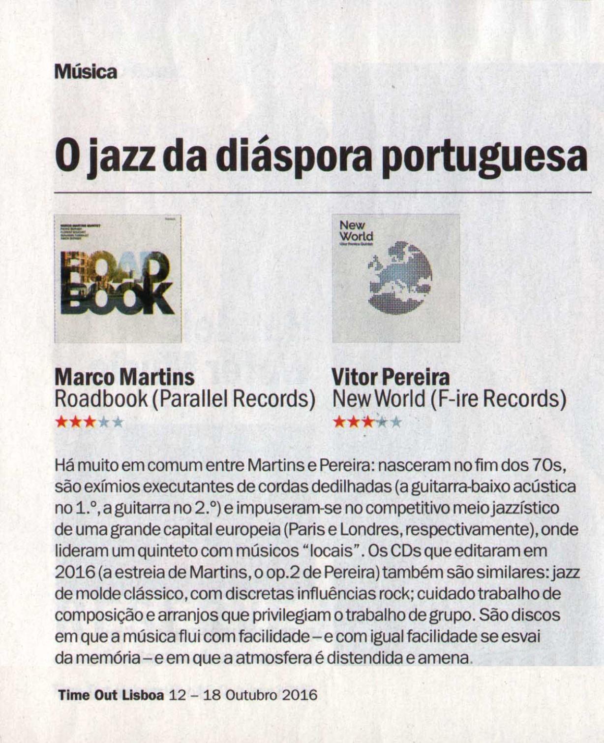 Time Out Lisboa 12-18 Outubro 2016