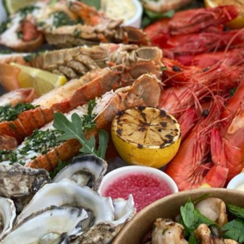 Cold Luxurious Seafood Platter for 2