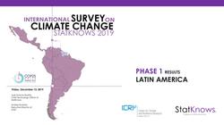 International Survey on CC StatKnows 201