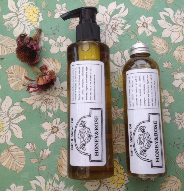 all natural bath and shower oils