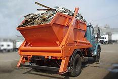 Вывоз мусора 8м3 лодочкой