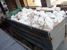 Вывоз мусора контейнером 24м3