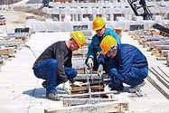 Рабочие на стройку