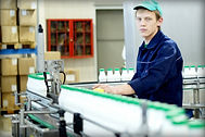 Рабочие на конвейер