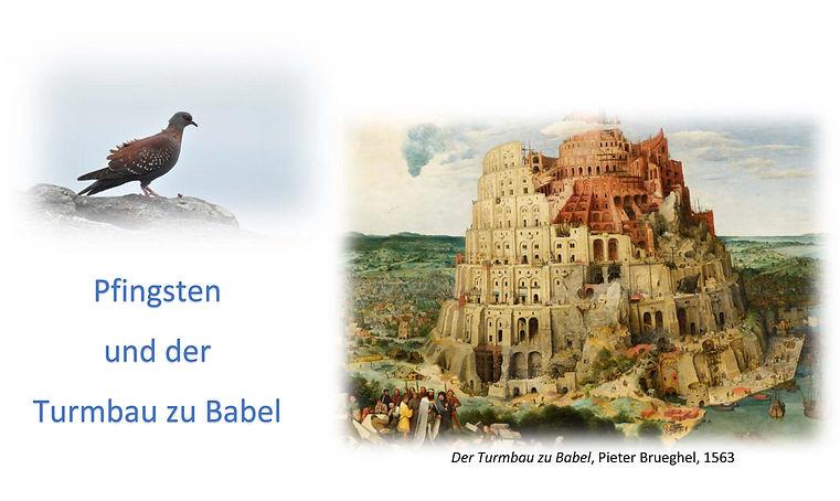 Pfingsten und der Turmbau zu Babel 23-05