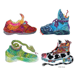 RedShoe.BlueShoe.GreenShoe.MooShoe