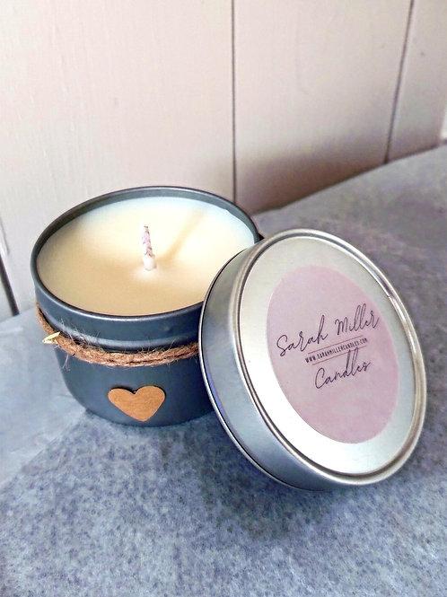 Cafe Mocha Tinned Candle