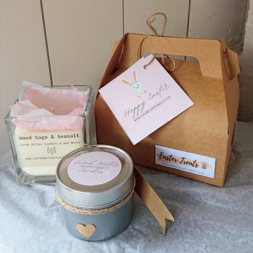 Easter Gift Box - 1 Tin, 1 Jar