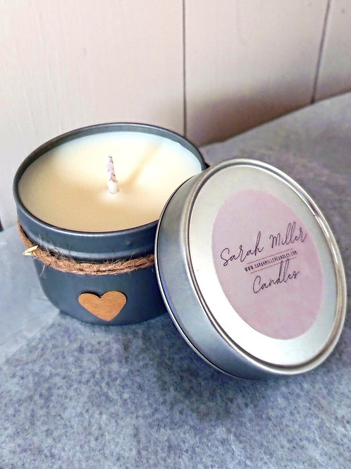 Sandalwood & Musk Tinned Candle