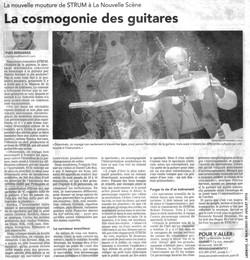 Cosmogonie de guitares, Le Droit