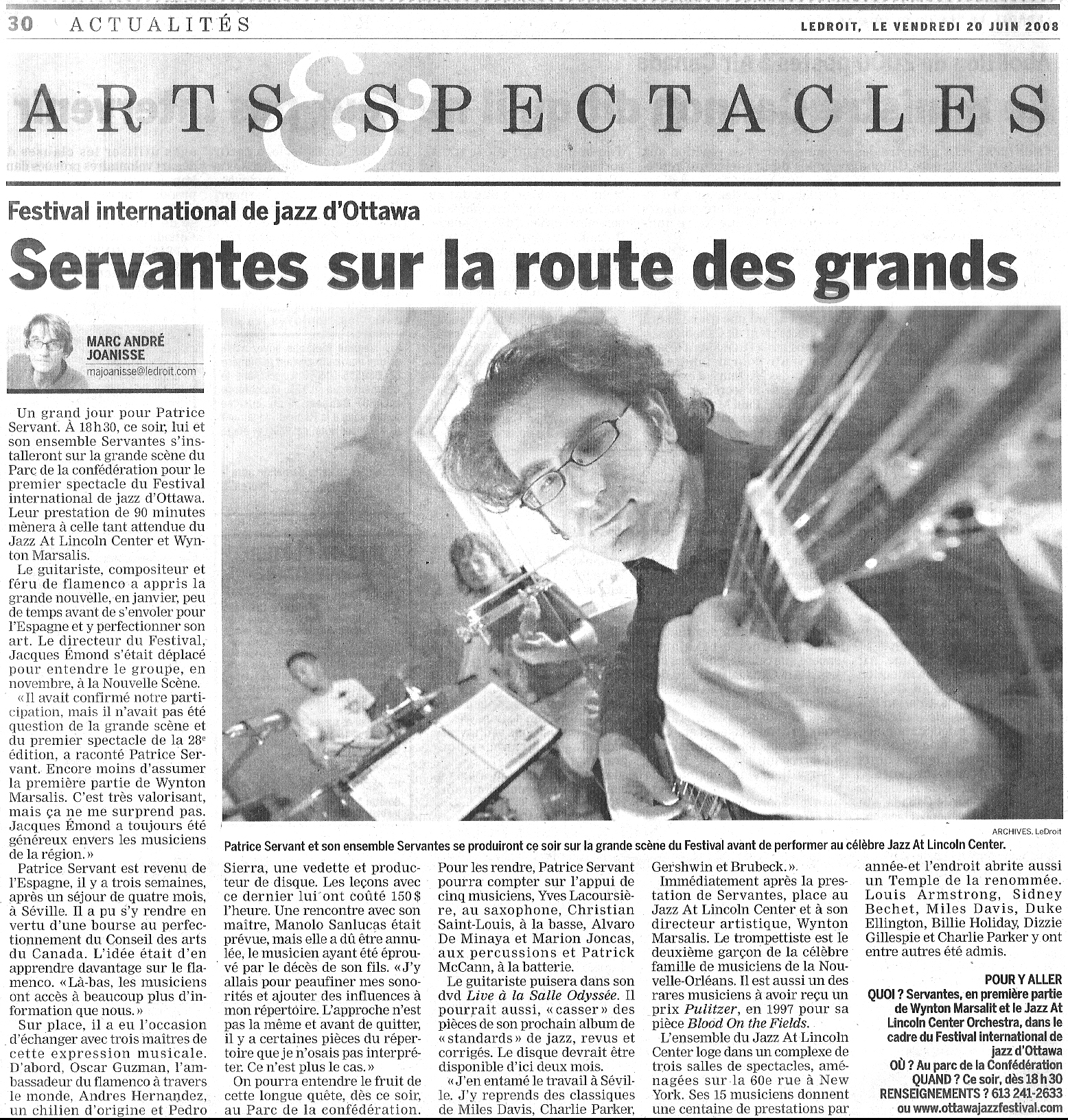 LeDroit, 2008