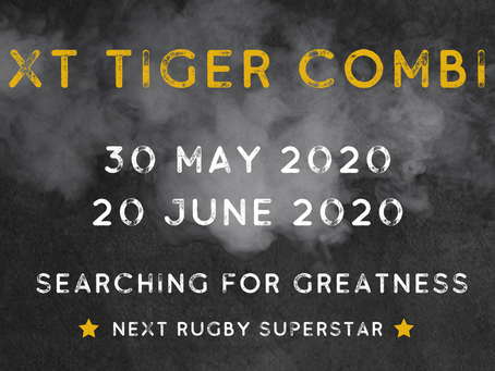 Tiger Rugby is searching for the next Rugby Superstar #TigerCombines