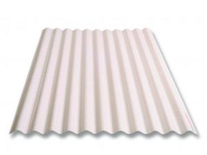 policarbonato ondulado 0.80x3.00 transparente