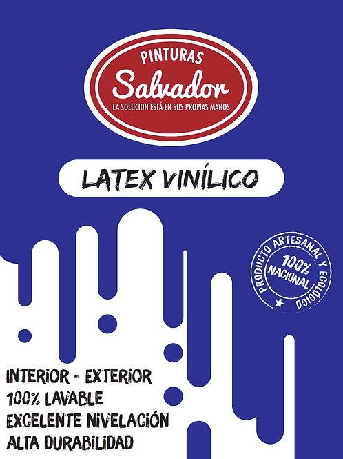 Latex Vinilico Galon 4lt Salvador Blanco