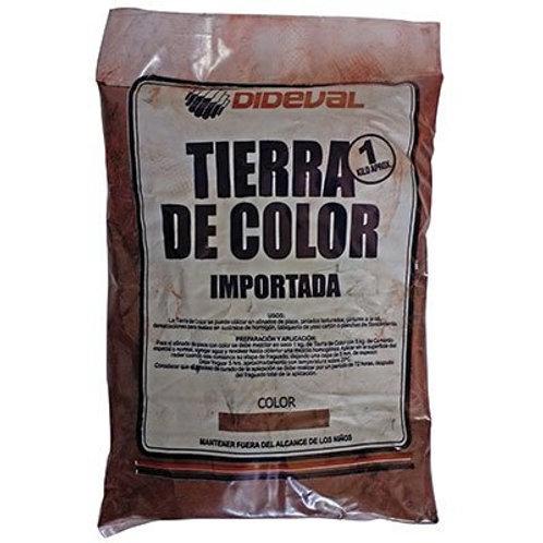 Tierra Color Roja 1/2k