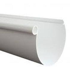 Canaleta  Lluvia PVC blanco 4 m