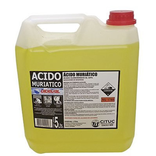 Acido Muriatico 5lt
