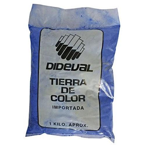 Tierra Color Azul 1k