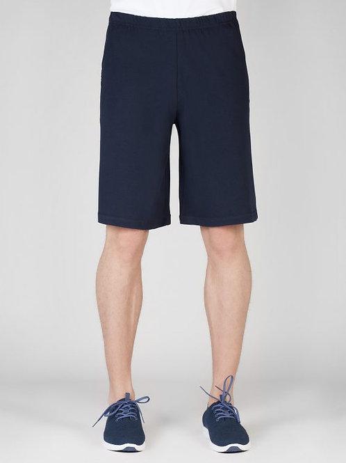 Parthenis Cotton Shorts Navy Blue