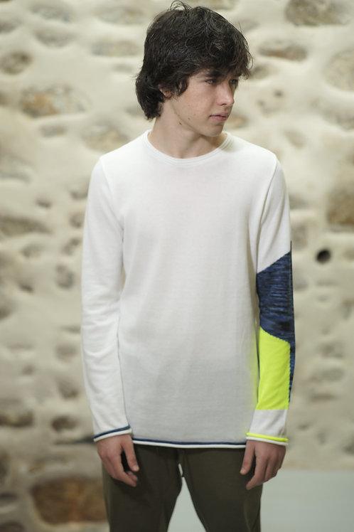 Arjuna Longsleeve Knitwear White