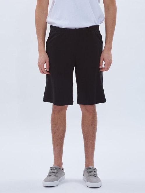Parthenis Cotton Shorts Black