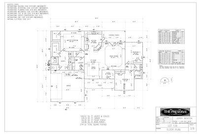 PG3 FLOOR PLAN Larry Frankling Lot 128-M