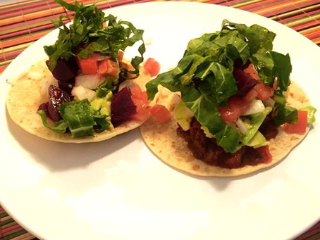"I will tell you how to make Vegan ""Meat"" Tacos and know the history of taco in 10 minutes."