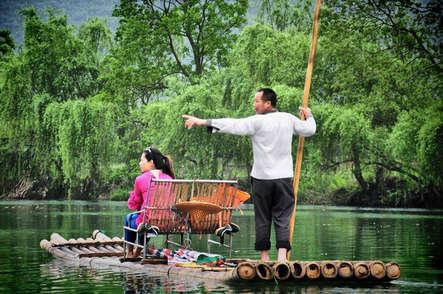 Río Yulong. ©Asier Calderón (todos los derechos reservados)