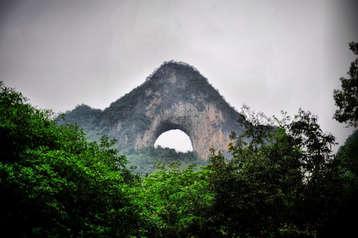 Paisaje cárstico en Yangshuo. ©Asier Calderón (todos los derechos reservados)