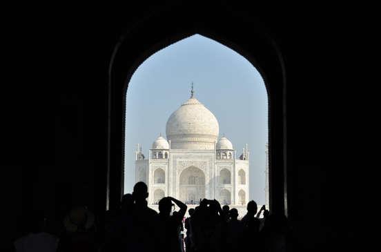 Taj Mahal. ©Asier Calderón (todos los derechos reservados)