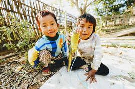Niños Myanmar. ©Rubén Campos (todos los derechos reservados) https://www.rubencampos.es