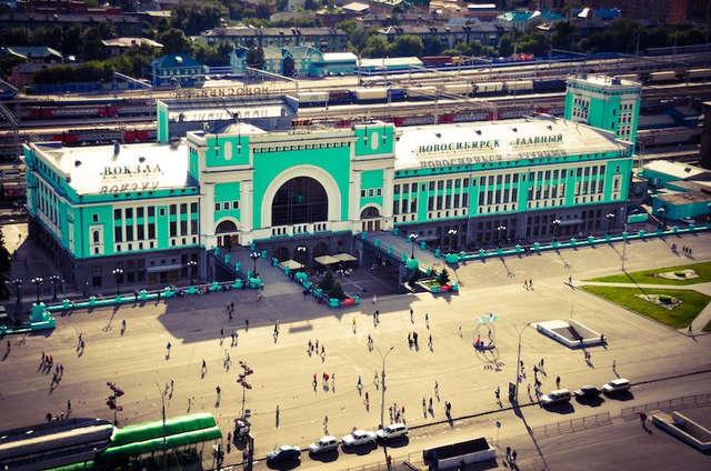 Estación de Novosibirsk. ©Asier Calderón (todos los derechos reservados)