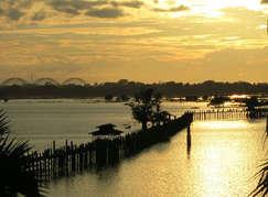 Puente U Bein. ©Elena Ortega (todos los derechos reservados)