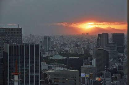 Atardecer en Tokio. ©Enno Kapitza (todos los derechos reservados) https://ennokapitza.de/en