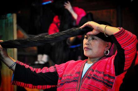 Etnia en China. ©Asier Calderón (todos los derechos reservados)