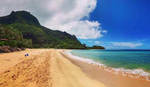 Tunnels Beach, Kauai. ©Elena Ortega (todos los derechos reservados)
