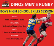 Boys High School Skills Session