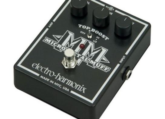 Pedal p/ guitarra micro metal EHX MUFF