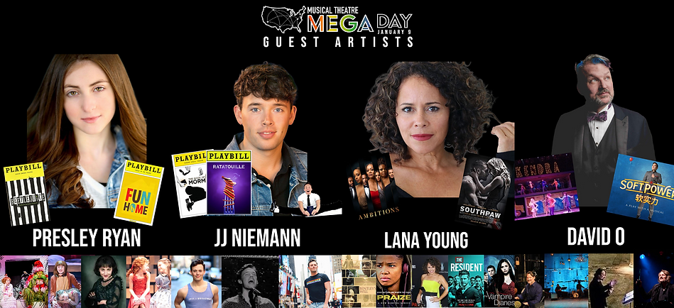 Jan 9Mega Day Guest Artists graphic.png