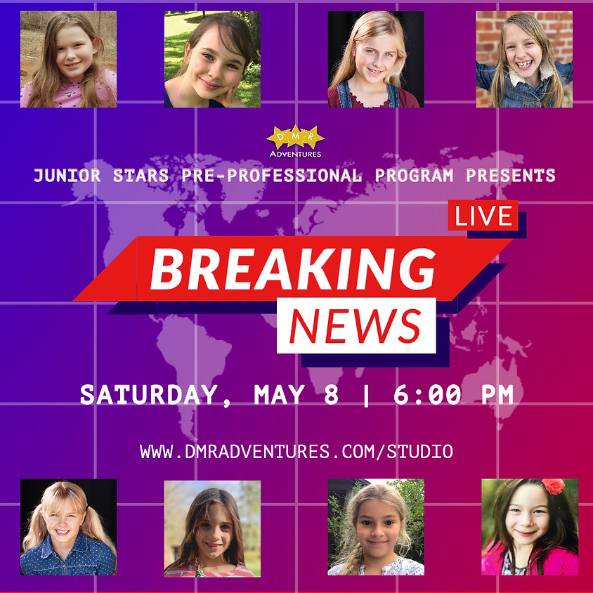 "Junior Stars Spring 2021 Showcase - ""Breaking News"""