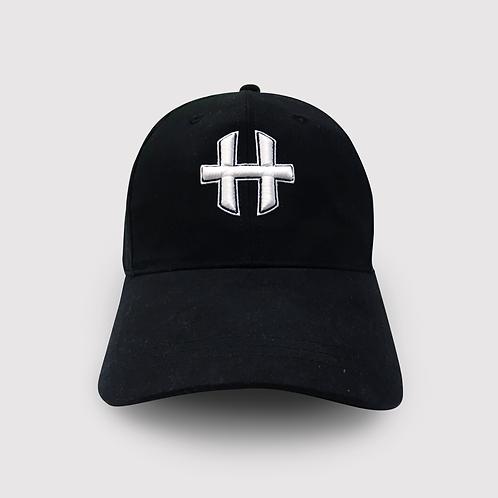 Helios Snapback Cap : Black