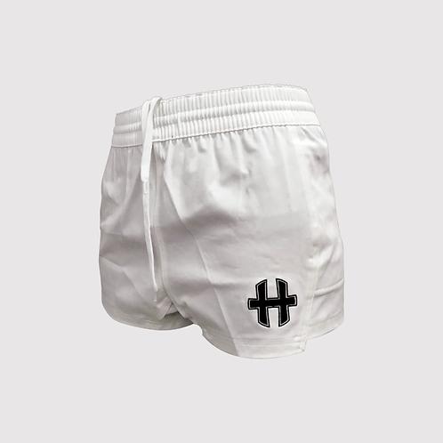 MXi Shorts : Classic White