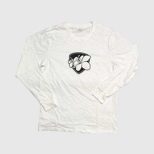 Rajapruek : Tee Shirt : Long sleeves : White