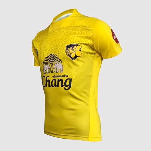 Thailand Rugby Player Jersey : Home : Yellow