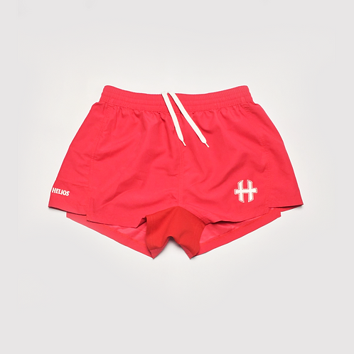 MXi Shorts : Raspberry Red