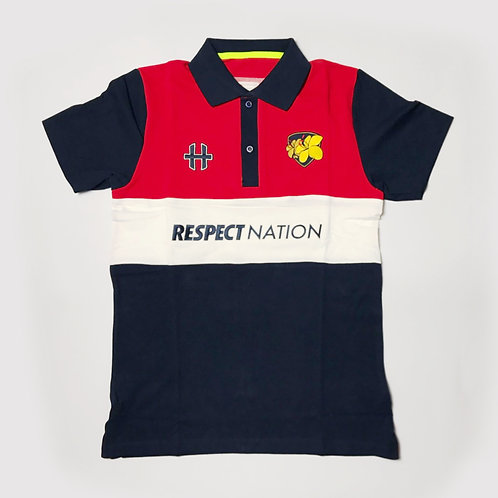 HxTRU / Respect Nation : Cotton Polo : Red
