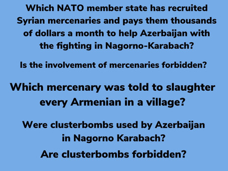 The killing in Nagorno-Karabach: Six questions about the inconvenient truth