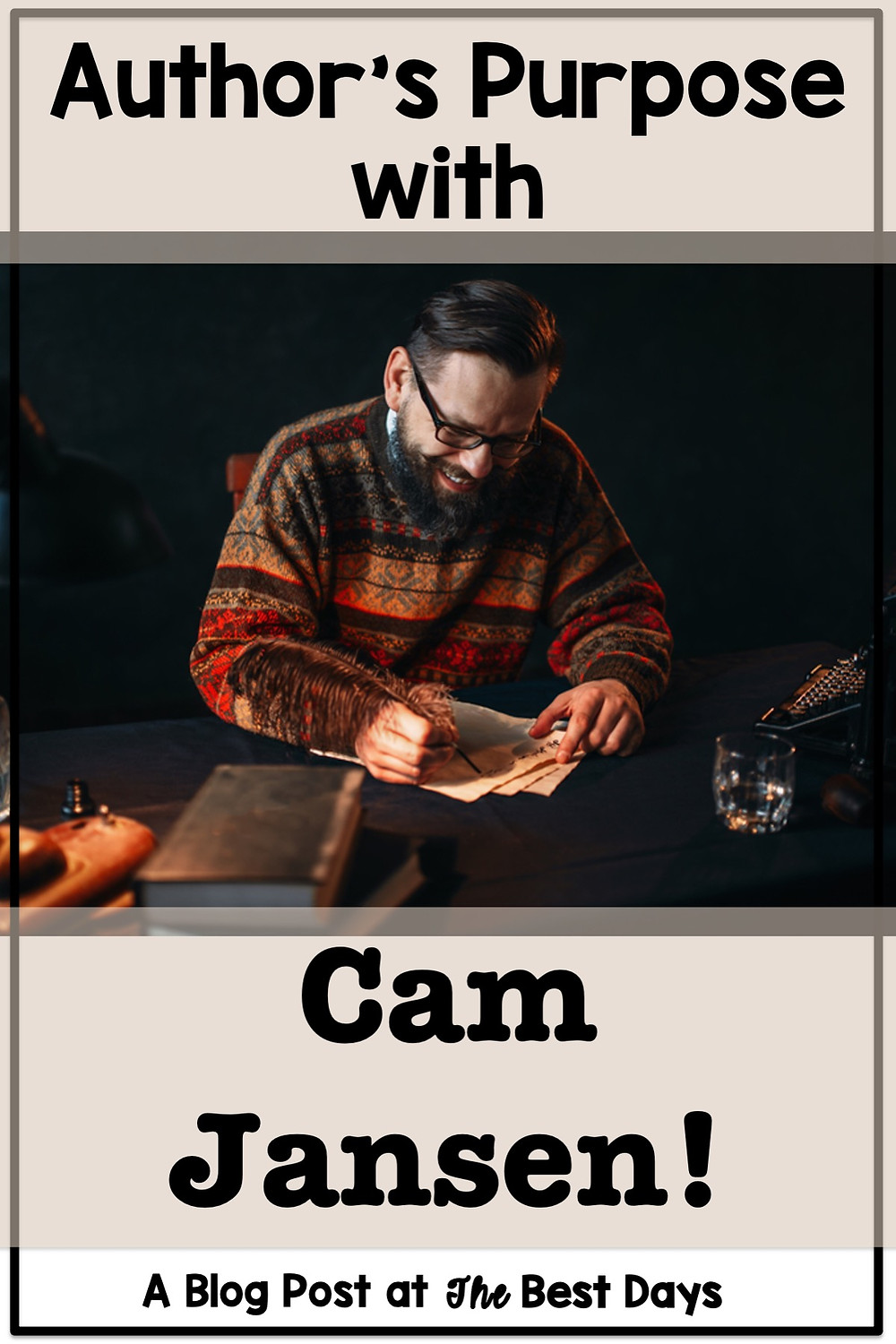 Cam Jansen and the Mystery of Author's Purpose Blog Post